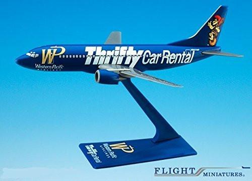 Western Pacific 737-300 Airplane Miniature Model Plastic Snap-Fit 1:200 Part# ABO-73730H-400