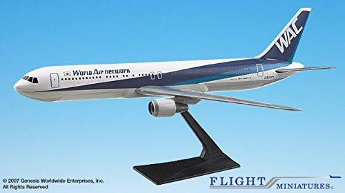 World Air Network Boeing 767-300 Airplane Miniature Model Plastic Snap Fit 1:200 Part ABO-76730H-011