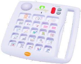 Portable dedicated speech generating device, Ablenet Inc QuickTalker