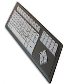 AbleNet BigKeys ABC LX Large Print Computer Keyboard USB Wired (BKLXWA) # 12000011