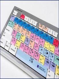 Logickeyboard LKBU-PPROCC-CWMU-US, Adobe Premiere Pro CC Mac ALBA Keyboard