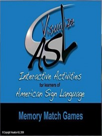 Memory Match Games - American Sign Language