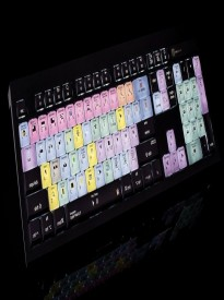 LogicKeyboard Apple Color-Coded Shortcut Final Cut Pro X MAC Astra USB Wired Keyboard Part # LK-KBU-FCPX10-AMBH