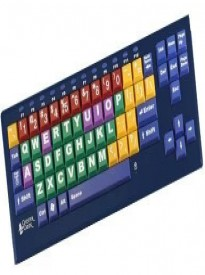 Quantity of 10 Big BluTM Bluetooth KinderBoard Large Key Large Print Computer Keyboard - Big Blu Kinderboard with Bluetooth