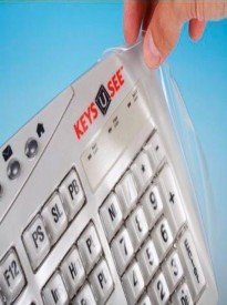 Biosafe Anti Microbial Keyboard Cover for Keys U See Keyboards