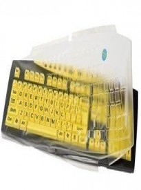Biosafe Antimicrobial Keys U See Keyboard Cover
