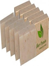 Certified Organic Sheer Organix Rejuvenative Herbal Soap Handmade in the USA, 4 oz.- 113g - 5 Pack