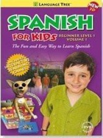Spanish for Kids Learn Spanish , Español para niños aprende español ,  Beginner Level 1, Vol.1,  conversational Spanish