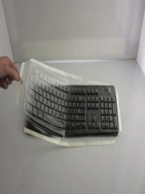 Viziflex's Biosafe Anti Microbial Keyboard cover fitting Logitech models K120, MK120, Y-U0009