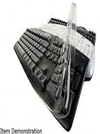 Dell KB813 Custom Keyboard Cover - Keyboard Protection - Transparent color