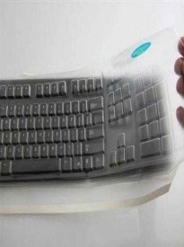 Viziflex's BioSafe AntiMicrobial Keyboard cover for Dell models KB212-B, SK8120, L50U, KB4021