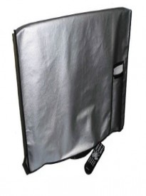 Flat Panel TV Cover with pocket for Remote Vinyl Padded Dust Covers