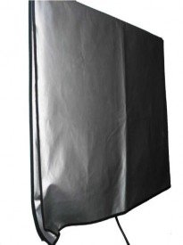 Large Flat Screen TV (65) Marine Grade Nylon Dust Black Color Cover (65 Cover - 60 x 4 x 35.5)