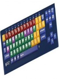 KinderBoard Large Key and Large Print Keyboard - English (US) Keyboard with Wired USB Connection