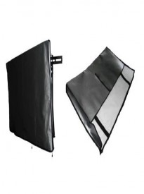Large Flat Screen Tv 37 Marine Grade Black Nylon Dust Covers Ideal for Outdoor Locations.