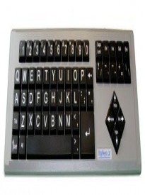 Advanced QWERTY AbleNet Computer Keyboard,USB Wired Large Print
