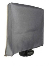 Large Flat Screen TV (39) Vinyl Padded Dust Silver Color Covers (39 Cover - 35.75 x 3.75 x 21.5)