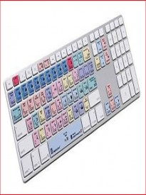 LogicKeyboard Adobe Premier CC American English Advance Line Keyboard