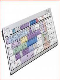 LogicKeyboard Grass Valley Aurora Edit - PC Slim Line Keyboard - USB