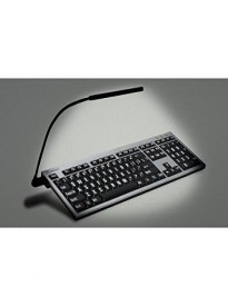 LogicLight Black USB Lamp for Keyboards and Laptops By LogicKeyboard - Keyboard Not Included