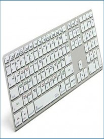 Logickeyboard Autodesk SMOKE Mac - Apple Ultra Thin Aluminum Keyboard