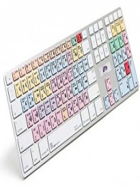 Ultra Thin Shortcut Alu Keyboard Avid Pro Tool Logickeyboard Apple