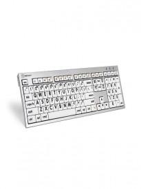 Logickeyboard LKBU-LPRNTBW-CWMU-US, Largeprint Black on White Mac ALBA Keyboard