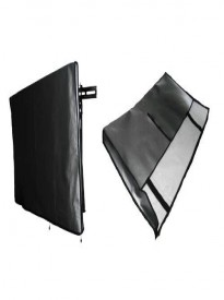 Large Flat Screen TV's Vinyl Padded Dust Covers Ideal for Outdoor Locations (60 Cover - 55 x 4 x 34)