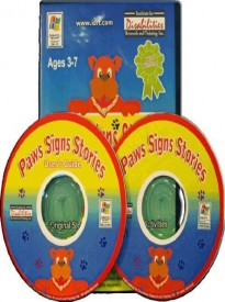 Paws Signs Stories, award-winning computer software for children, Paws Signs Stories (American Sign Language - Accessible Product)