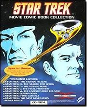 Star Trek - Movie Comic Book Collection