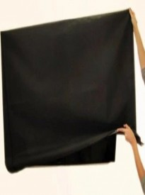 Large Flat Screen Tvs 55 Marine Grade Black Nylon Dust Covers Ideal for Outdoor Locations.