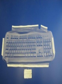 Viziflex's formfitting keyboard cover for Microsoft Wired 200 Model 1406 437G104