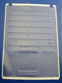 Viziflex Keyboard Cover designed for HP 9470M Laptop