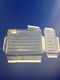 Viziflex Keyboard Cover for KENSINGTON SLIMBLADE SET 253G90/254G17 Keyboards