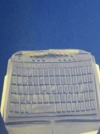 Gyration Viziflex's formfitting Computer Keyboard Protection cover