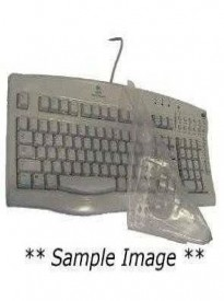 Viziflex's Biosafe Anti Microbial Keyboard cover fitting Microsoft Comfort Curve 2000 Model 1047 879E113AM