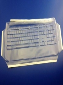 Viziflex's formfitting keyboard cover for LOGITECH ILLUMINATED YUY95 597G107