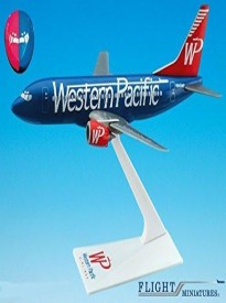 Flight Miniatures 1:200 Scale Plastic Snap-Fit - Boeing 737-300 - Length:6.25