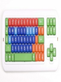 Large Print Mechanical solid spill proof Color coded Keyboard