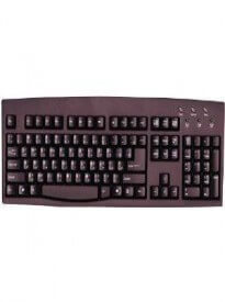 Persian Farsi English SimplyPlugo Brand Computer Keyboard - (Black USB Wired)